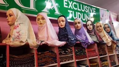 Tudung bawal shawl