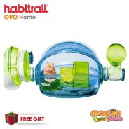 New Habitrail Ovo Home Blue Hamster Cage