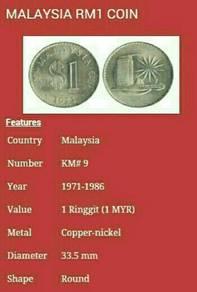 Duit syiling 1971 Parliamen satu ringgit