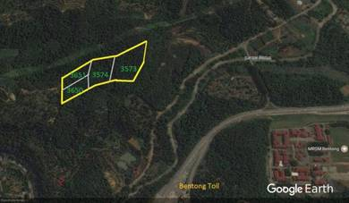 15.48 Acres land at Bentong, 4 Miles from Bentong town