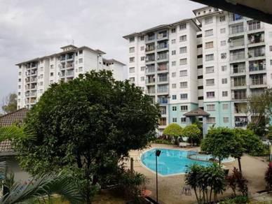Akasia Apartments Wawasan Puchong Partly Furnished FREEHOLD Near LRT
