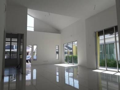 New Corner Lot Single Storey Semi D in Puteri Residence