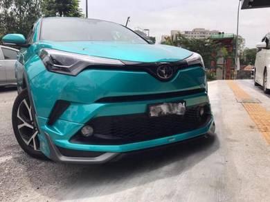 Toyota chr modelista bodykit with paint body kit