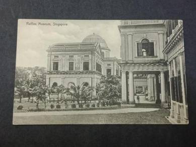 Postcard Raffles Museum No 2768