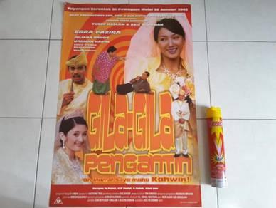 Poster Original GILA2 PENGANTIN Limited Edition 02