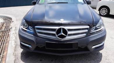 Mercedes C Class W204 Facelift AMG Sport Bodykit