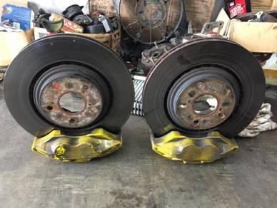4 pot brake kit mark x is250 plug n play