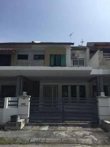 Gated Double Storey Terrace house at Jelapang Bayu