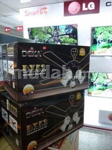 New DEKA GLASS Lighting Ceiling FAN n Remote