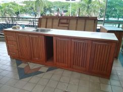 Kitchen Cupboard cabinet with sink 550
