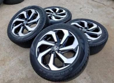 Honda Accord Original 17 Inch Sports Rim And Tyre