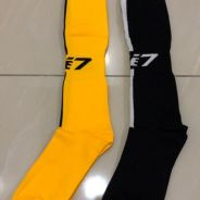 Line 7 football socks