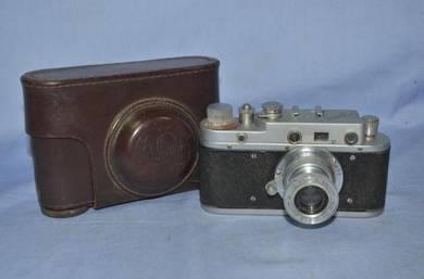 Antique RUSSIAN zorki c leica copy camera