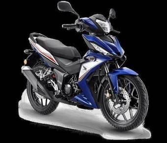 Honda rs 150 rs150 (BEST PRICE,STOK SEGERA)