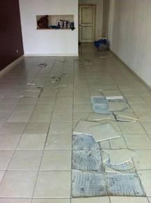 Tile pecah meletup