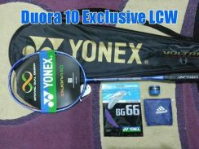 Raket Yonex Duora 10 LCW & Astrox 77