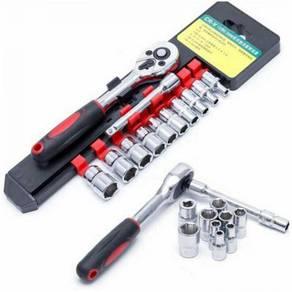 12pcs New Wrench Socket Set Spanner Tool