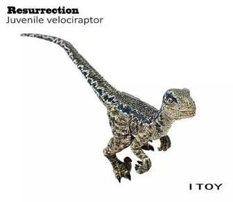 I Toy Jurassic World velocitator blue