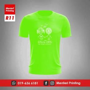 Baju Rewang Tshirt Kahwin Krew Kenduri Print R11