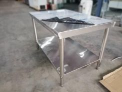 Stainless steel work table 4ft