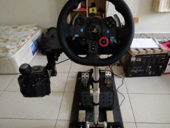 Logitech G29 with gear shift.1 set with stand
