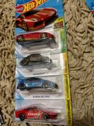 Hotwheels set of 4
