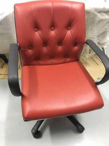 Pu leather imported chair