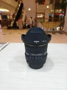 Sigma 10-20mm f4-5.6 ex dc hsm lens-canon*95% new