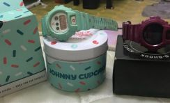 G shock johnny cupcakes & pl4(combo)