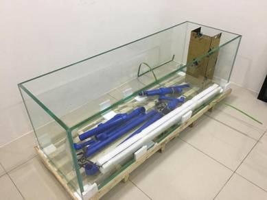 1.8m complete new aquarium set for sell