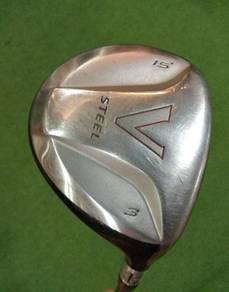 Taylormade V Steel 3Wood 15* R-Flex RH