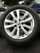 Original honda civic fb 16 inch sports rim tyr 70%