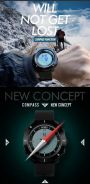 Compass watch/kiblat