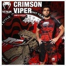 FC MMA VENUM Crimson Viper Compress Shirt ( baju)