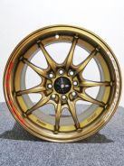 Promosi New Sport Rim Mugen MF10 Brown Rim Sukan
