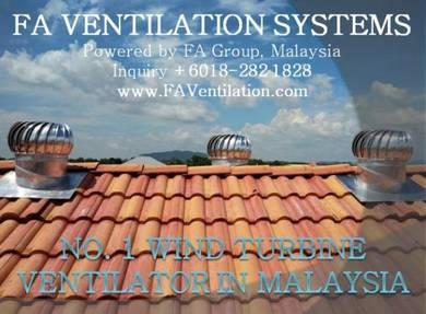 HYB23F WINDMILL Wind Turbine Ventilator / Air Vent