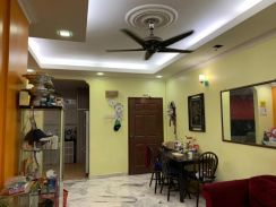 Renovated Ground Floor Medium Cost Apartment Cendana Bukit Subang Sela