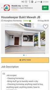 Homestay Housekeeper Tmn Bkt Mewah JB