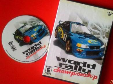 Dy World Rally Championship DVD Playstation 2 Game