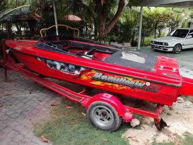 Speed boat power jet