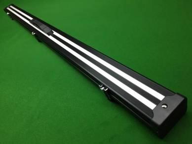Black Stripe 3/4 Aluminium Snooker Cue Cases