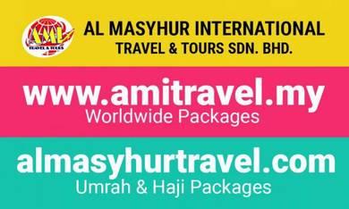AMI Travel | 7H5M Pakej India (26 April 2019)