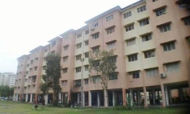 Rumah nilam sari PKNS Seksyen 7, Shah Alam, tingkat 4