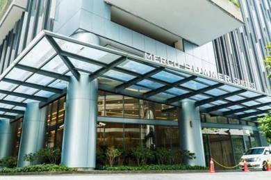 [below market] mercu summer suites , klcc , fully furnished, city view