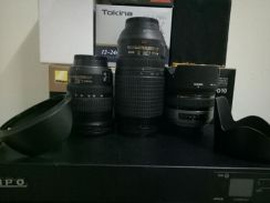Nikon fx n dx lens
