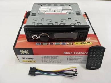 X-Sound Single Din DVD/CD/USB/AUX/Bluetooth Player