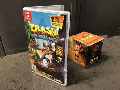 Crash Bandicoot N Sane Trilogy -Nintendo Switch
