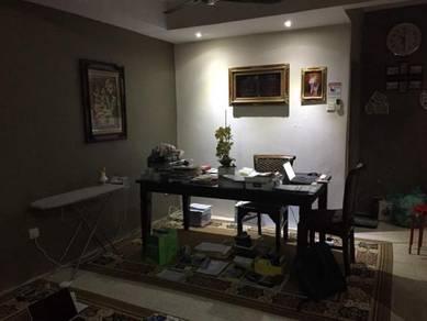 2 Storey END LOT Terrace House at Taman Cahaya AMPANG Near Axis Atrium