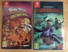 Giana Sisters & Dragons Nintendo Switch Games