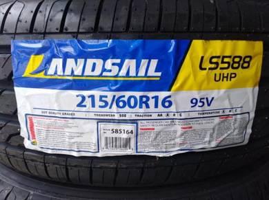 215/60/16 Landsail LS588 Tyre Thailand 2019 Tayar